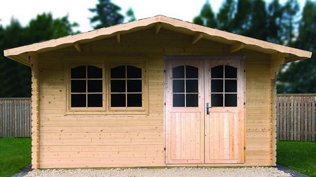 gartenhaus enzo d 40mm 500x500cm gartenhaus shop. Black Bedroom Furniture Sets. Home Design Ideas